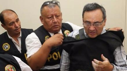 Jorge Cuba fue trasladado al penal Ancón 1