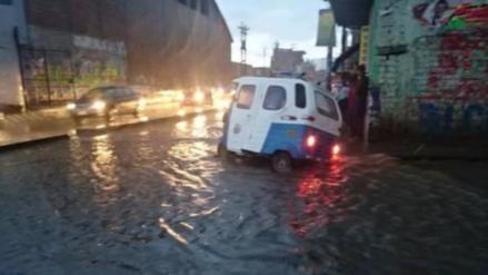 Declaran alerta amarilla en salud por fuertes lluvias en la región Cajamarca
