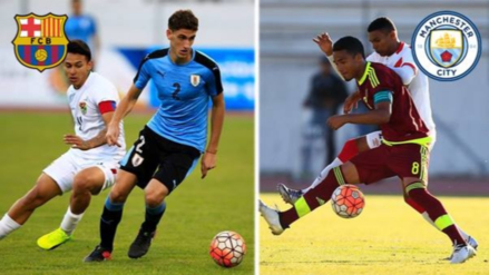 Barcelona y Manchester City ficharon a dos figuras del Sudamericano Sub-20