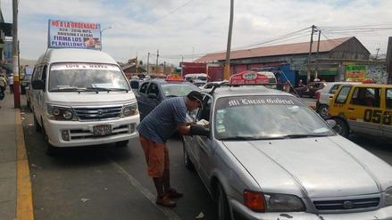 Transportistas reúnen 3 mil firmas para pedir modificatoria de ordenanza municipal