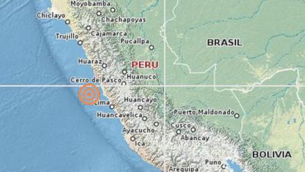 Un sismo de 4.1 grados se registró en Lima esta madrugada