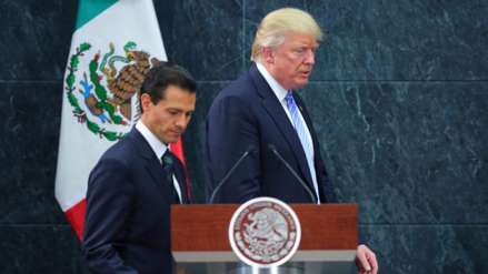 Escándalo en México tras revelarse un supuesto diálogo entre Trump y Peña Nieto