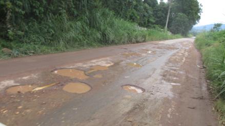 Satipo: transportistas piden mantenimiento de carretera Fernando Belaunde Terry