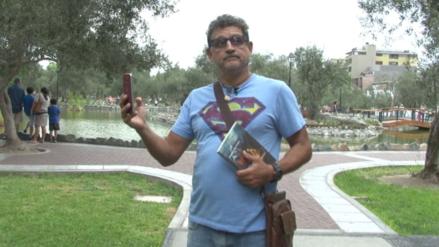 Sergio Galliani, el actor que ahora busca promover la lectura