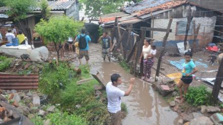 Realizan evaluación de daños en zonas afectadas por lluvias