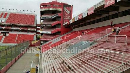 Así se encuentra el estadio en donde Independiente recibirá a Alianza Lima
