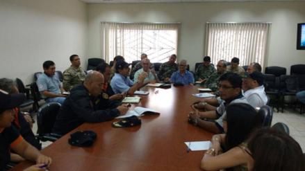 Autoridades se reunieron para tomar medidas de emergencia ante lluvias