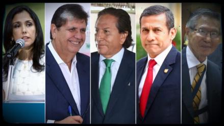 Nadine Heredia y Alan García son los más corruptos, según encuesta de CPI