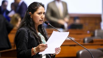 """Tania Pariona: """"Comisión Lava Jato quiere salvar a García y no tocar a Fujimori"""""""