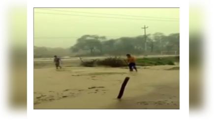 Piura: fuertes lluvias activan quebradas en Chulucanas