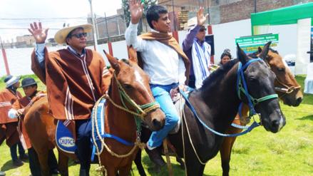 Huancayo: alcaldes anuncian cabalgata de sacrificio a Lima