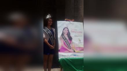 Presentan afiche de concurso Señorita Integración 2017