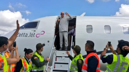 Vin Diesel llegó a Colombia para la boda de Nicky Jam