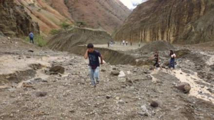 Intensas lluvias en Bagua provocaron la ruptura de una tubería de agua