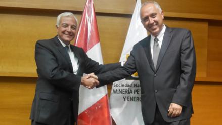 Luis Marchese es el nuevo presidente de la SNMPE hasta el 2019