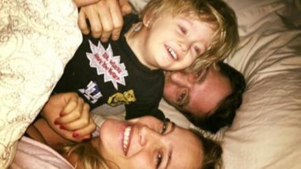"""Luisana Lopilato informó que su hijo Noah """"evoluciona favorablemente"""""""