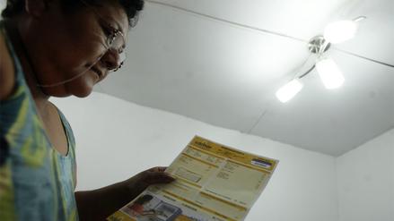 Osinergmin: Tarifas eléctricas residenciales bajan 2.5% desde el sábado