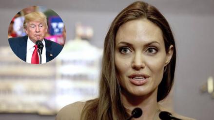Angelina Jolie critica las políticas migratorias de Donald Trump