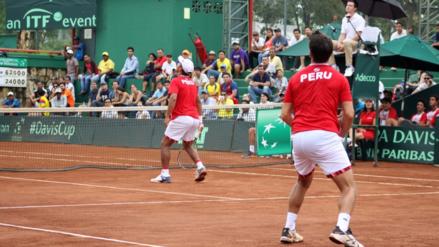Perú cayó en dobles ante Ecuador y no avanzó en la Copa Davis