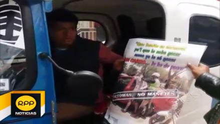 Operativo por carnavales buscan prevenir accidentes de tránsito