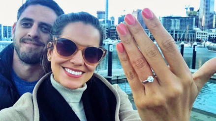 Valeria Piazza anunció su compromiso con Pierre Cateriano