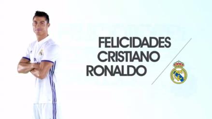 Cristiano Ronaldo celebra 32 cumpleaños y así lo felicita el mundo