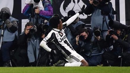 Golazo de Juan Guillermo Cuadrado dio el triunfo a Juventus sobre Inter
