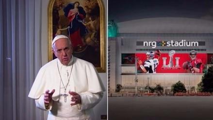 El papa Francisco mandó mensaje previo al Super Bowl LI