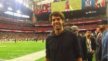 Kaká y el 'Tata' Martino estuvieron presentes en el Super Bowl LI