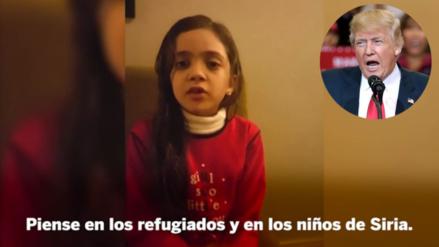 Bana, la niña tuitera de Alepo, le dejó un mensaje a Donald Trump