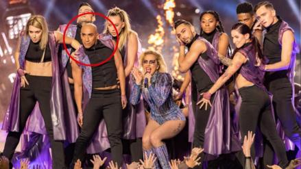 Bailarín peruano brilló junto a Lady Gaga en el Super Bowl