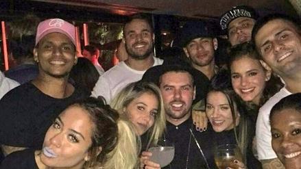 Las postales tras la fiesta que organizó Neymar por sus 25 años