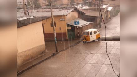 Cajamarca soportará lluvias de moderada a fuerte intensidad hasta el viernes