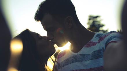 Los besos son beneficiosos para la salud