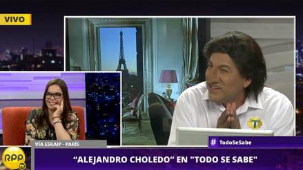 Mira la entrevista que dio 'Alejandro Choledo' a Todo se sabe