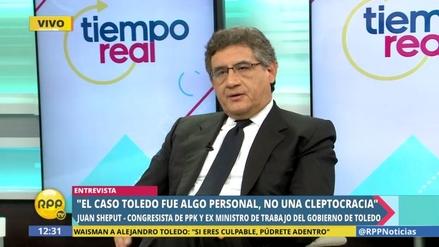 """Sheput sobre el caso Toledo: """"Fue algo personal, no una cleptocracia"""""""