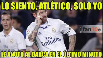 Divertidos memes dejó el partido entre Barcelona y Atlético en el Camp Nou