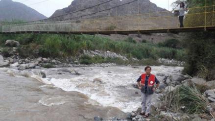 Virú: crecida de río impide paso de vehículos a Susanga