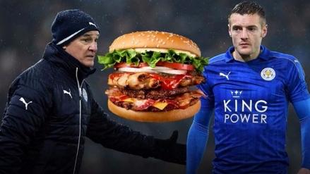 Ranieri prohibió las hamburguesas en Leicester tras malos resultados