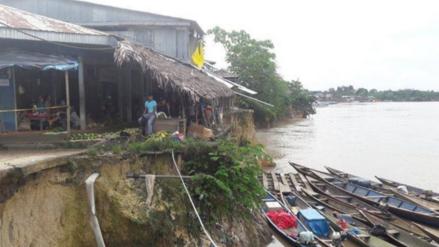 Margen derecha de río Marañón fue declarada en emergencia