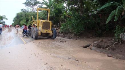 Más de 1,000 pobladores aislados por colapso de carretera Jaén - Cascarilla