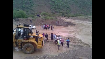 Cajamarca: huaico sorprende a pobladores de Tabacal en Chilete