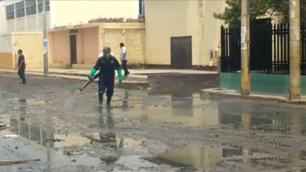 En 45 días se solucionará evacuación de agua en calles de Chiclayo