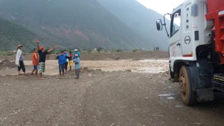 Transito Cajamarca – Ciudad de Dios continúa restringido