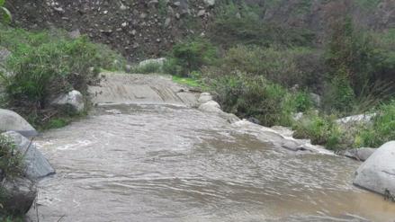 Defensa Civil afirma que se atiende a pueblos afectados por lluvias