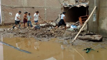 Lluvias dejaron cerca de 7 mil casas colapsadas e inhabitables en Lambayeque