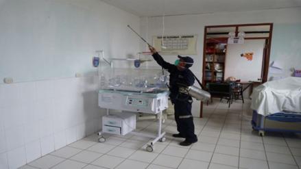 Fumigan hospital de Moyobamba por proliferación de zancudos