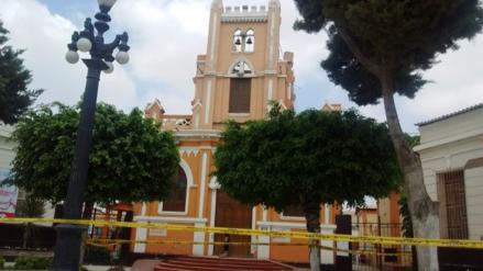 Dirección de Cultura evalúo daños en capilla de Las Mercedes