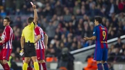 Luis Suárez no jugará la final de la Copa del Rey por una doble sanción