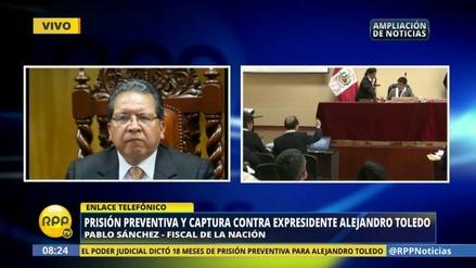 """Pablo Sánchez tilda de """"histórica"""" la orden de prisión para Toledo"""